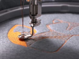 Embroidery with a Regular Sewing Machine